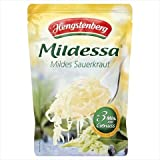 Type - Hengstenberg mildessa sauerkraut in pouch Capacity - 14.1 oz. Case of 6IngredientsWhite cabbage, salt, sugar, vegetable extract (carrot, celery, Package Quantity: 6 Tastes Great.