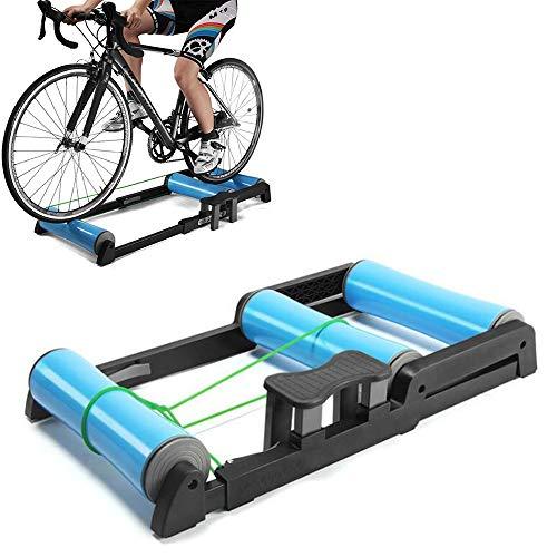 Dtong Indoor-Fahrradtrainer Zusammenklappbare Fahrrad-Roller Fahrrad-Trainingsbügel Für Indoor-Fahrrad-Training, Für 24-29-Zoll-Mountainbike