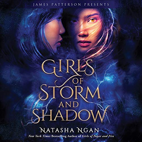 Girls of Storm and Shadow audiobook cover art