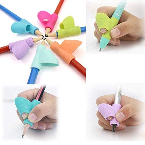 Stifthalter für Kinder, Schreibhilfe, Haltungskorrektur, 3 Stück