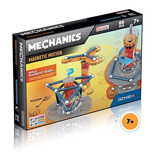 Geomag 761 Mechanics Magnetic Motion 86pcs, Mehrfarbig
