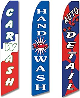 car wash banners for sale