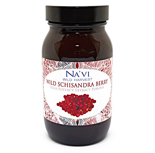 Full Spectrum Schisandra Berry (Dual Extraction) Extract Powder - Wild Harvested (80g)