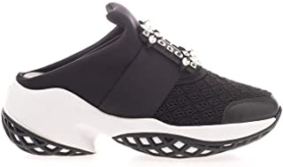 Roger Vivier Luxury Fashion Womens RVW50628130KZPB999 Black Slip On Sneakers |