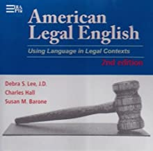 American Legal English, 2nd Edition, Supplemental Audiofiles: Using Language in Legal Contexts (Michigan Series In English For Academic & Professional Purposes)