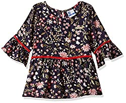 612 League Girls Floral Regular Fit Long Sleeve Top