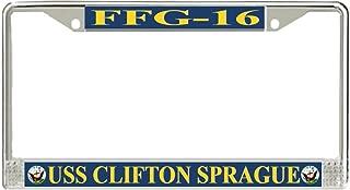 MilitaryBest USS Clifton Sprague FFG-16 License Plate Frame