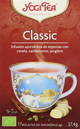 Yogi Tea Infusion de Hierbas Classic, 17 bolsitas
