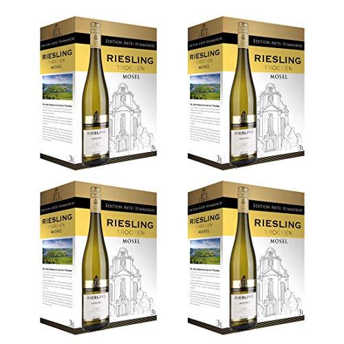 Bag-in-Box - 2018 Qualitätswein Mosel Riesling Trocken - Edition Abtei Himmerod - Deutschland - Mosel - Weißwein, trocken, Box mit:4 Boxen