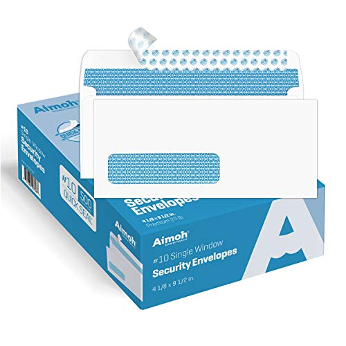 10 self sealed envelopes - 5