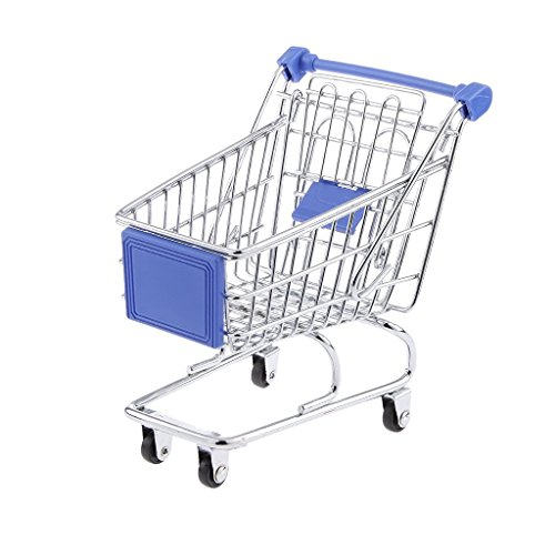 BLxi Mini-Einkaufswagen Supermarktwagen Bollerwagen Rollwagen