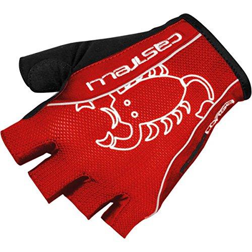 Castelli - Rosso Corsa Classic Gloves, Color Rojo, Talla L