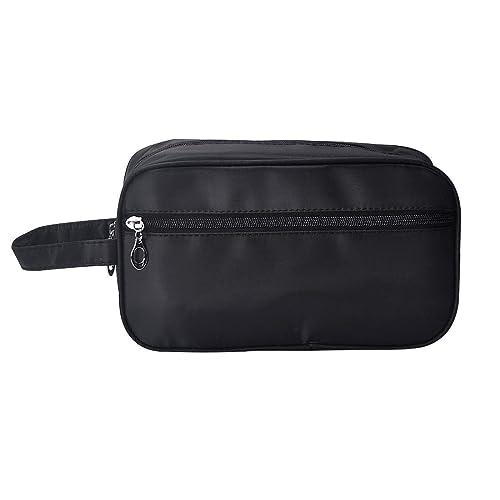 iSuperb Toiletry Bag Travel Organizer Classy Waterproof Portable Wash Gym  Shaving Bag for Men 10x6x4inch( d3cd304db1041