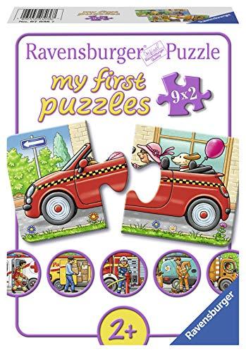 Ravensburger Kinderpuzzle 07036 - Allerlei Fahrzeuge - my first puzzles - 2,4,6,8 Teile
