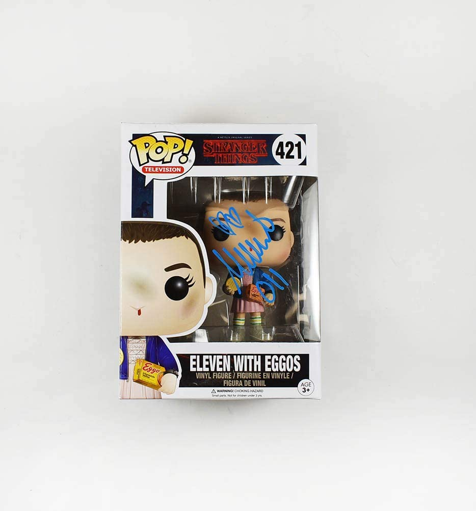 Millie Bobby Brown Signed Super special price Be super welcome Funko Certified Authentic Pop Beckett