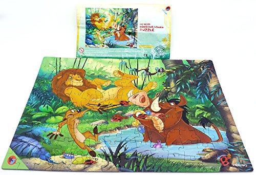 Kinder Überraschung Maxi Ei Puzzle von König der Löwen mit Beipackzettel