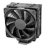 DEEPCOOL GAMMAXX GTE V2 Black CPU Air Cooler with 4 Heatpipes, 120mm PWM Fan and Black Anodized Heat Sink for Intel LGA 1200 1151 2011 AMD Ryzen AM4