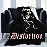 KisdFinda Social Distortion 60'x50' Flannel Warm Travel Blanket Blanket Blanket Blanket Microfiber Blanket