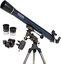 Celestron - AstroMaster 90EQ Refractor Telescope - Refractor Telescope for Beginners - Fully-Coated Glass Optics - Adjusta...