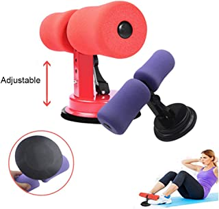 Ternence Flynn Sit-up Exercise Assistant Device with Sponge, Adjustable Self-Suction Exercise Body Equipment Bodybuilding Expander for Abdomen/Waist/Arm/Leg Stretching Slimming Training