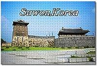 BEI YU MAN.co 大人の子供のための韓国水原ジグソーパズルギフトのための1000個の木製パズルゲーム家の装飾特別な旅行のお土産