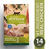 Rachael Ray Nutrish Premium Natural Dry Cat Food, Real Chicken & Brown Rice...