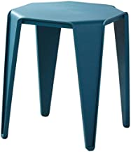 Yxsdd Ottoman Footstools Stools Footstool Work Stool Shower Stool Plastic Simple Solid Color Household Thicken Living Room...