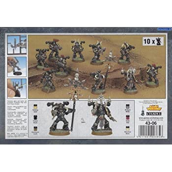 Terminators Boxed Set Warhammer 40K Chaos Space Marines Board Game by Games Workshop 99120102047