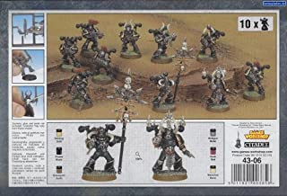 Games Workshop 99120102055 Chaos Space Marine Squad Tabletop and Miniature