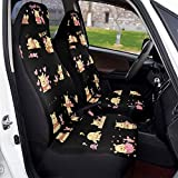 Winnie the Pooh Car Seat Covers Soft Comfortable and Elastic Car Seat Protective Case Made of Polyester, Suitable for Most Family Cars 1 PCS