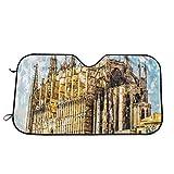 Llynice Big Gothic Building Sea Shore Catedral de Palma de Mallorca, Vista Desde Carretera, Parasol para Ventana Delantera