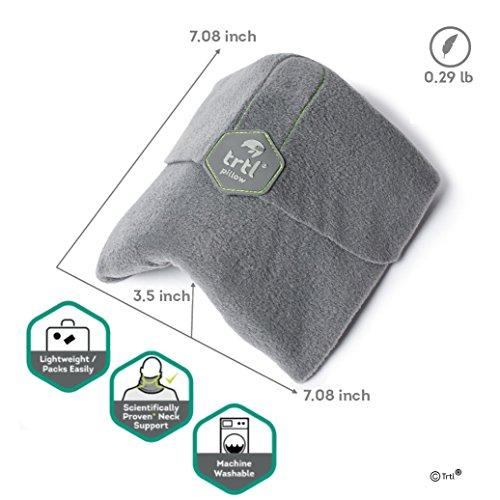 Trtl Pillow ネックピロー US,UK Amazon 首を痛めない トラベルピロー 旅行枕 飛行機 新幹線用