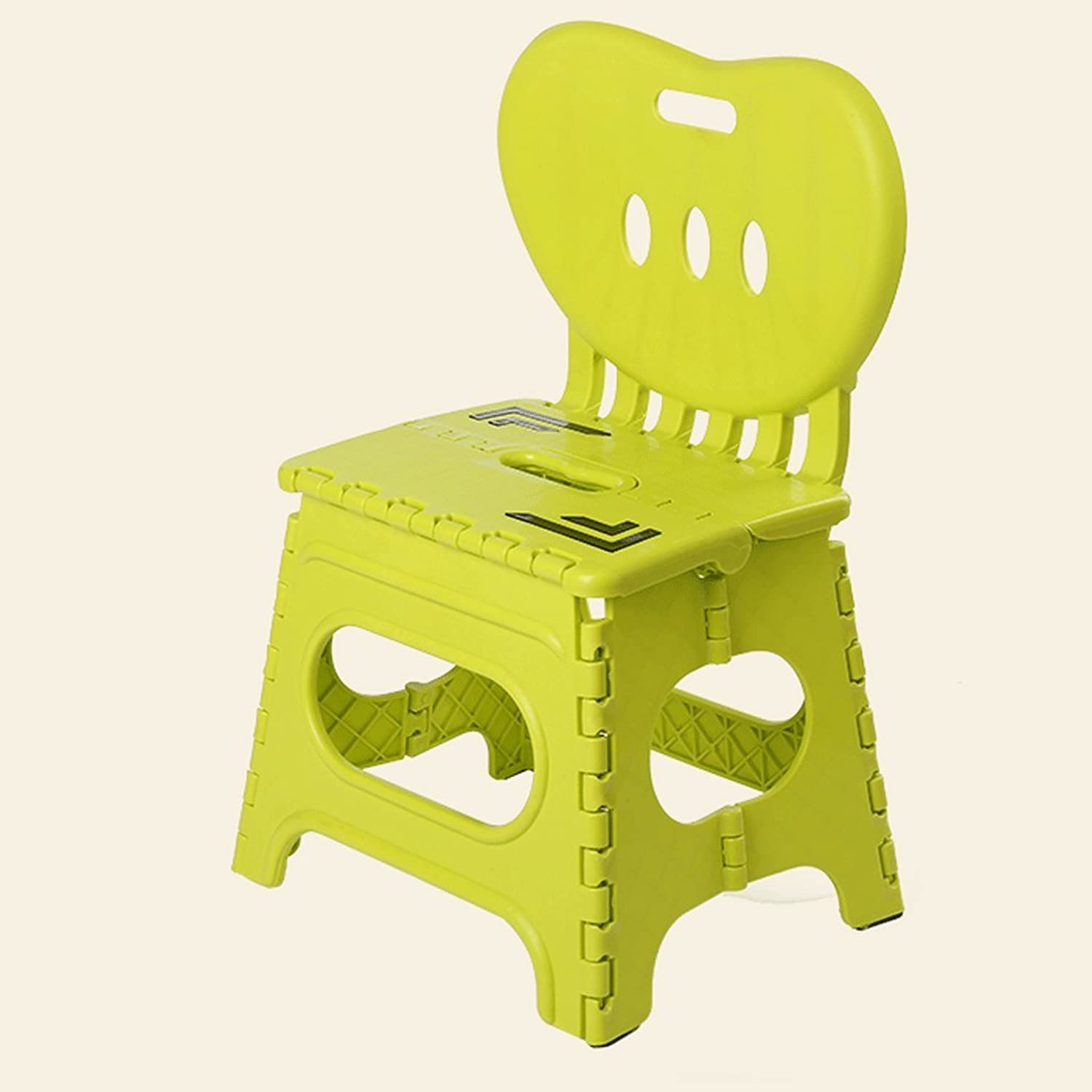 Folding Step Stool - The Lightweight Foldable Step Stool is Sturdy Enough to Support Adults Skid Resistant and Open with One Flip (color   2)