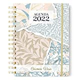 Onepersonal - Agenda Anual 2022 Personalizada | Agenda Interior un Día Página - Flores en Portada y Diseño Minimalista |...
