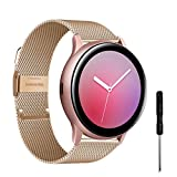 YHC Correas Compatible con Samsung Galaxy Watch Active 2,Pulsera de...