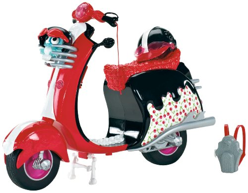 Monster High - X3659 - Poupée - Ghoulia - Scooter