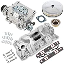 NEW HOLLEY STREET DEMON CARBURETOR & MANIFOLD COMBO,625 CFM,4 BBL,GASOLINE,VACUUM SECONDARIES,ELECTRIC CHOKE,COMPATIBLE WITH SMALL BLOCK CHEVY