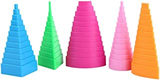 5 unidades Formas de Papel Quilling Torre de Papel Quiling Border Buddy Papel Border Buddy Papel Craft Tool DIY para Niños