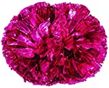 Lot de 2 Cheerleaders Pom Poms main Fleur Aérobic Boule danse Props Jeux Rose