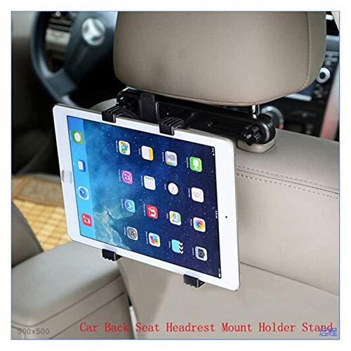 FENGFENG Sun Can Universal 7 8 9 10 11 Pulgadas Tablet PC Soportes Soporte de reposacabezas del Asiento Trasero del Coche Soporte para iPad 2/3/4 iPad Mini 1/2/3 Air (Color : Black)