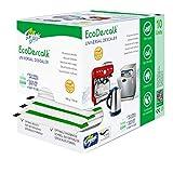 EcoDescalk Universal Biologico in Polvere, 10 Sacchetti. Decalcificante 100% Naturale. Detergente per Bollitori, Lavatrici, Lavastoviglie. Prodotto CE.