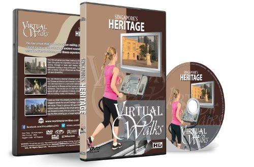 Virtuelle Spaziergänge - Singapurs Erbe für Innen Walking, Laufband und Rad-Training
