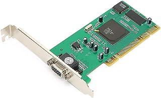 Tarjeta Gráfica, Tarjeta VGA, 8MB SDRAM Tarjeta Gráfica PCI de 32 bits, Compatible con la Ranura PCI-X de 64 bit, para Sof...