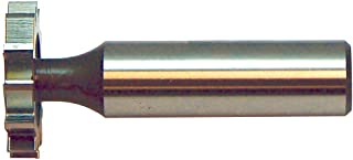 3//16 Width of Face F/&D Tool Company 12329 Shank Type Woodruff Keyseat Cutter Straight Tooth 1 1//4 Diameter High Speed Steel