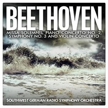 Beethoven: Missa Solemnis, Piano Concerto No. 2, Symphony No. 3 and Violin Concerto