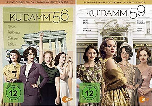 Ku'damm 56 + Ku'damm 59 [DVD Set]