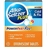 Alka-Seltzer Plus Severe Non-Drowsy Cold & Flu PowerFast Fizz Citrus Effervescent Tablets 20ct