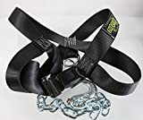 Spud Inc Adjustable Front Squat Harness - Use on Belt Squat Machine Or Low Econo Pulley (Large (150-225lbs))