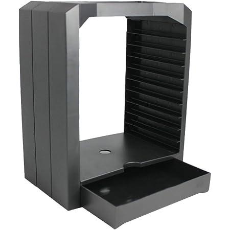 Reemplazo para Playstation 4 PS4 Delgado Pro Xbox One Xbox 360 Xbox CD Universal Game Almacenamiento Escaparate Torre de 10 Juegos de CD Holder