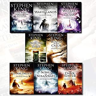 Stephen King Dark Tower Collection 8 Books Set (1 to 8 Books Set) (The Gunslinger, the Drawing of the Three, the Waste Lands, Wizard and Glass, Wolves of the Calla, Song of Susannah, The Dark Tower & [hardcover]The Wind through the Keyhole)